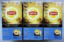 Tea black Lipton Cuba Resort  25 bags x 3 boxes