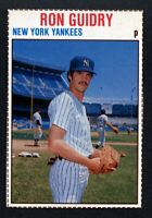 1979 Hostess Hand Cut #89 Ron Guidry Oddball Card~NM/NM-MT~Yankees Pitcher