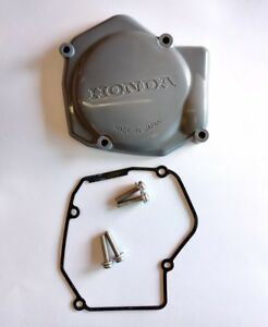 11350-KZ4-620 - Honda CR125 Cover, Left Ignition, Flywheel, Stator - NEW