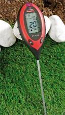 4 in 1 Bodenanalysegerät Bodenmessgerät (Licht, Feuchtigkeit, PH, Temperatur)