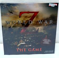 World War Z the Board Game Zombies movie zombie new university games