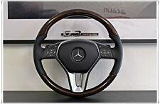 1x original Mercedes Holzlenkrad Wurzelnuss Glanz W212 W218 W204 GLK X204 R231