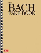 The Bach Fake Book Sheet Music Piano Book NEW 002501427