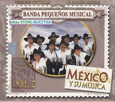 Banda Pequenos Musical Vol 2 Mexico y su Musica Box set New Nuevo sealed