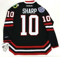 PATRICK SHARP CHICAGO BLACKHAWKS NHL STADIUM SERIES REEBOK PREMIER JERSEY