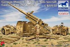 Bronco 1/35 88mm L71 Flak 41 Anti-Aircraft Gun With Sd.Ah.202 Trailer #35114