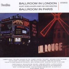 Kurt Edelhagen Orch Ballroom in London & Paris 1960s CD