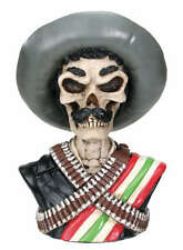 hombre resin bust Gear shift Shifter knob Outlaw Gunman Skull Big Poncho Via