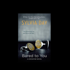 Bared to You paperback novel by Sylvia Day FREE SHIPPING Crossfire Series Book 1