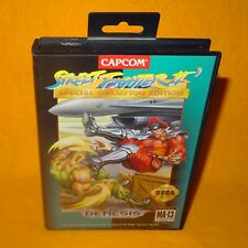 VINTAGE locale GENESIS STREET FIGHTER II 2 Special Champion Edition Videogioco
