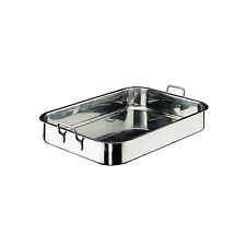 PADERNO ROAST PAN STAINLESS STEEL 600X350MM - PRICED TO CLEAR 60% OFF