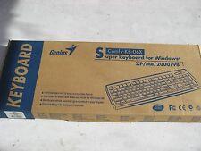PS/2 Teclado Genius KB-06X Sin Uso En Caja.