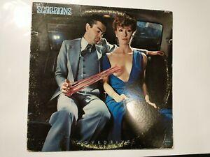 Scorpions LP - Lovedrive - Mercury Records SRM-1-3795 w/ Lyric Sleeve