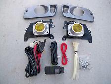 Honda Civic 2/3 Door EJ EG Coupe JDM Yellow Fog Light Kit + Harness + Switch Si