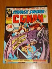 CONAN SAVAGE SWORD #6 BRITISH WEEKLY 1975 APRIL 12TH