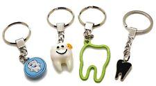 4 Pcs Set Dental Keyring Key-chain Dental Doctor Student Gift Kids Adults New