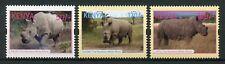 Kenya 2018 MNH Northern White Rhinoceros Rhino Rhinos 3v Set Wild Animals Stamps