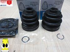 Front Passenger Side Inner & Outer CV Axle Boot Kit For Nissan NX 2000 1991-1993