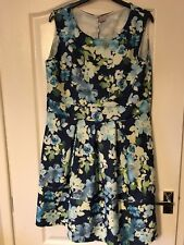 BNWT I Want That Tend Navy Floral Dress Sz 20 Occasion Party Wedding Races