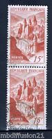 1947//2xTIMBRES FRANCE//OBL**ABBAYE DE CONQUES-AVEYRON**STAMP Y/T. N°792