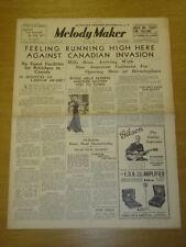 MELODY MAKER 1936 MAY 30 IRVING MILLS MILLS BROTHERS BIG BAND SWING