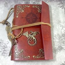 Leather Notebook Journal RPG Dragon Game Of Thrones, Lord Rings, Steampunk