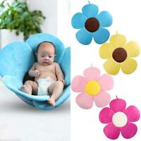 Newborn Baby Bathtub Mat Foldable Blooming Flower Bath Support Cushion