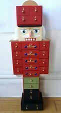 TKMAXX Nutcracker Advent Calendar Figurine drummer boy wooden Christmas H47cm