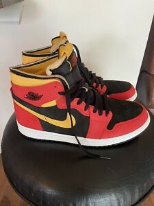 Jordan 1 High Zoom Air Comfort CMFT Chile Red Men's Size 10 Style CT0978-006