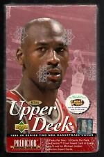 1995-96 Upper Deck Basketball cards Retail Box Series 2 Wrapped 28 packs Sealed