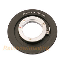 Pentax 110 Lens to Micro 4/3 M4/3 Adapter Panasonic GF3 GF5 GF6 GX1 GX2 GF6 GH3