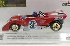 SRC 03101 FERRARI 312 PB 1000KM BUENOS ARIES RONNIE PETERSON '72 1/32 SLOT CAR
