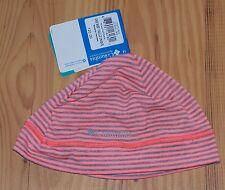 *BIG SALE* Columbia Womens Sportswear Omni-Wick SKULL Cap Beanie Hat PEACH GREY