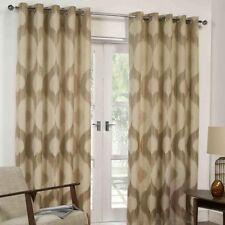 Unbranded Striped Jacquard Curtains