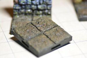 Dungeon - Floor (2x2) - 3D gedruckt Gelände - Terrain - Fat Dragon Games 28mm