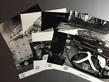 2000 Audi A6 Models B&W Press Photo Package RARE!! Awesome L@@K