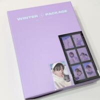 BTS WINTER PACKAGE 2021 in Gangwon Official set w/ Photocard + Film Photo J-HOPE