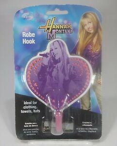 Disney Hannah Montana Secret Star Robe Hook by Amerelle 2008 Miley Cyrus NIP