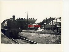 PHOTO  BARRY MPD 8/63 GWR 0-6-0PT 3690 IS AT THE HEAD OF A ROW OF PARKED LOCOS W