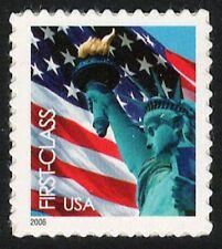 USA Sc. 3966 (39c) Flag & Liberty 2006 MNH SA pane single