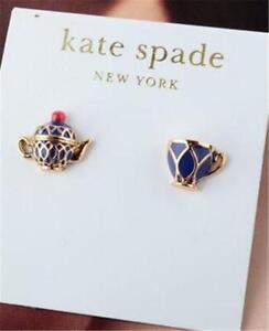 Kate Spade New York Tea Time Stud Earrings