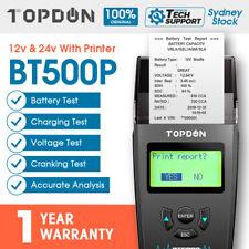 100amp Battery Load Tester Charge Checker 6 & 12v for Car Van Vehicle AU Ship