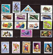 MALDIVES  timbres neufs sujets divers: cétcés,personnalités,fleurs F89