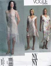 Vogue 2797 Sewing Pattern Misses' NY Collection Dress & Slip sizes 6, 8, 10