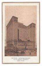 Postcard New York NY Hotel Commodore Grand Central Terminal Standard View Card