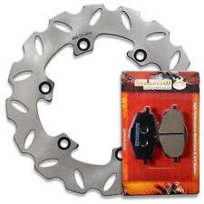 Yamaha Rear Brake Rotor + Pads YZ 125 250 U [88] DT125 R [88-03] TDR125 [94-03]