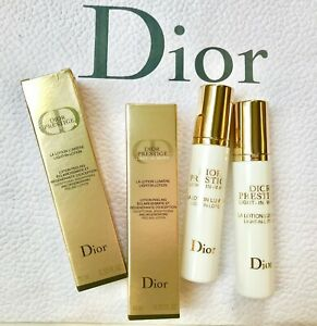 DIOR PRESTIGE Light-in-White Lotion Brightening Peeling Lotion 10ml x 2