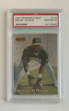 1997 Bowman's Best Miguel Tejada Rookie RC #114 PSA 10 GEM MINT