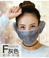 Fashion Black Outdoor Anti-dust Cotton Face Mask Ear Warm Mouth Muffle New Cheap