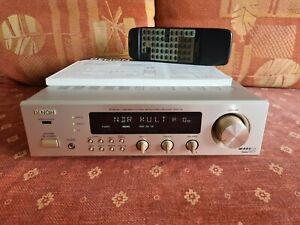Denon DRA-F100 RDS Stereo Receiver im Midi Format / Silber